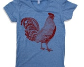 Womens Urban ROOSTER T Shirt american apparel S M L XL (10 Colors Available)