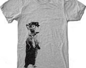Men's River OTTER t shirt american apparel S M L XL (17 Color Options)