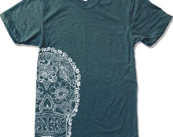 Mens DAY Of The DEAD 2  american apparel T-shirt S M L XL (17 Colors Available)