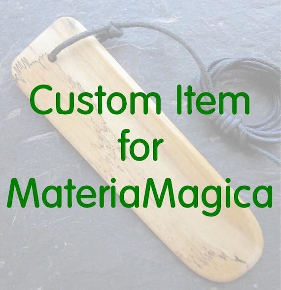 Custom Item for MateriaMagica.