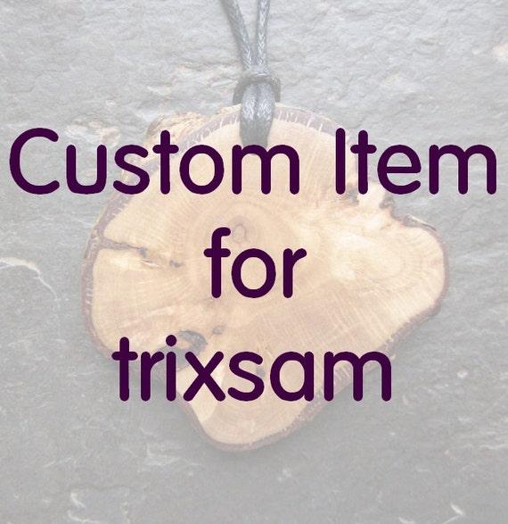 Custom Item for trixsam.