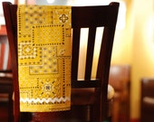 Yellow Birdie Tea Towels