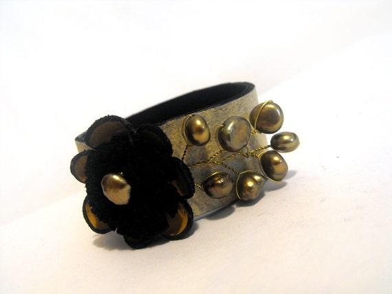 French style leather bracelet