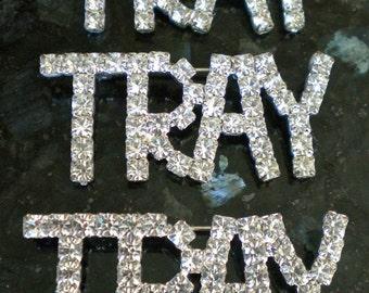 Sparkly Tray Rhinestone Pins