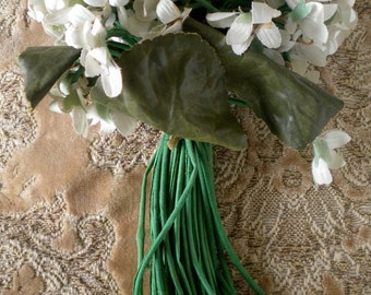 1920s Ivory White Flower Bouquet