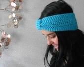 turban knot ear warmer / headband . eco friendly . vegan . PICK YOUR COLOR .