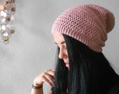 eco friendly . slouch beanie . vegan . PICK YOUR COLOR