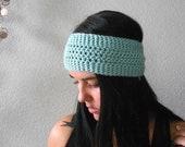versatile turban knot ear warmer / headband . eco friendly . vegan . PICK YOUR COLOR.