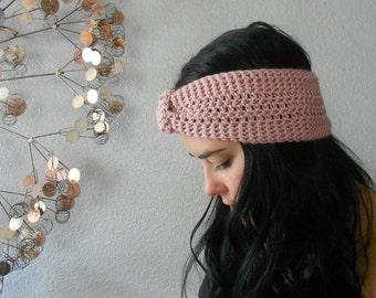 versatile turban knot ear warmer / headband . eco friendly . vegan . PICK YOUR COLOR