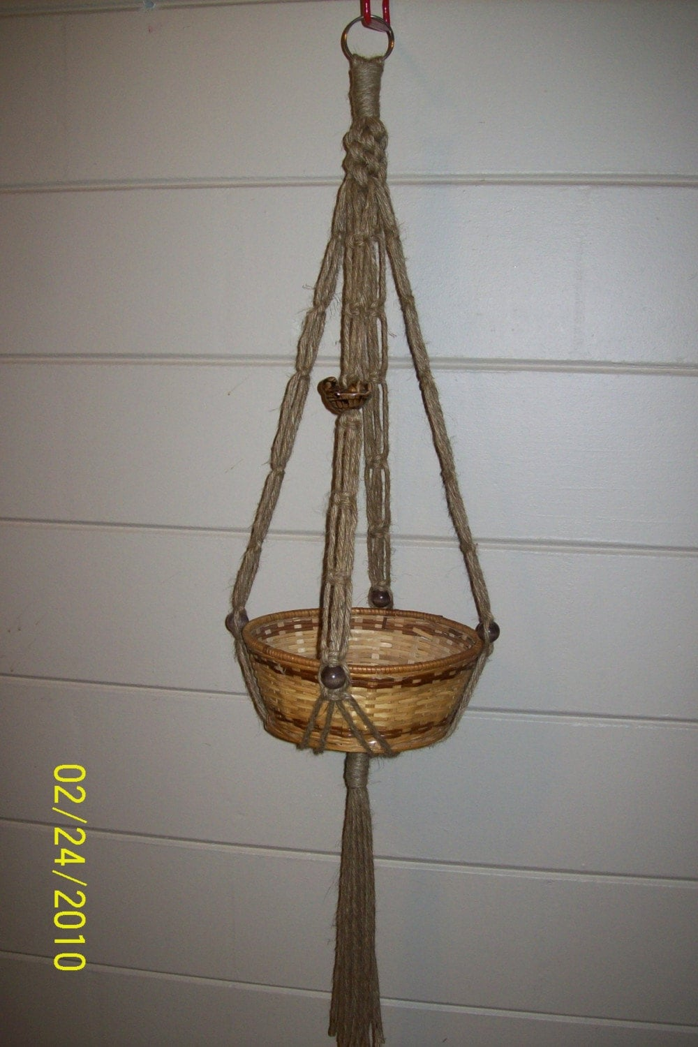 Items Similar To Turtle Jute Macrame Plant Hanger On Etsy