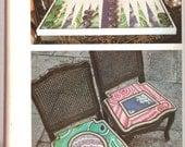 More Needlepoint Design by Lou Gartner color plates, patterns, instruction, good