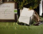 Best Wishes Sign and Wish Cards Set -- A Fabulous Alternative to a Guest Book