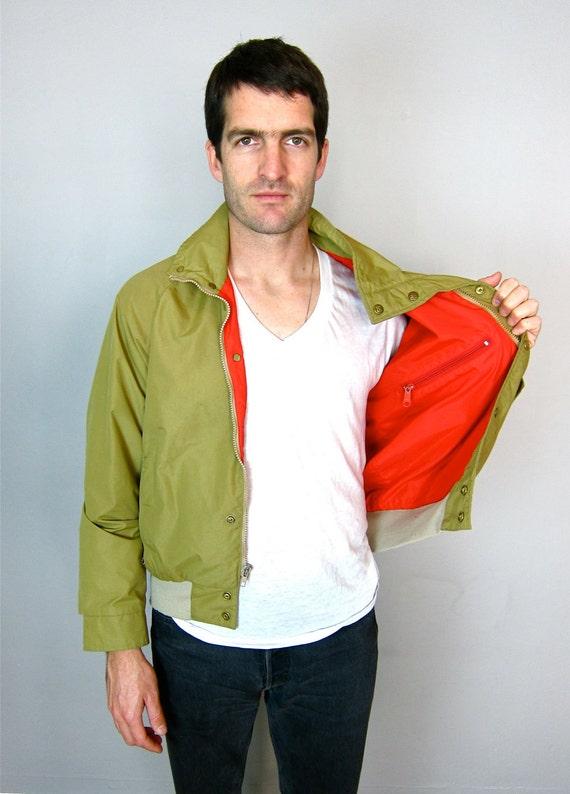 Tan Eddie Bauer 1980's Men's Jacket