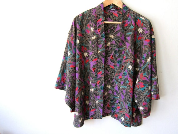 Gorgeous Floral Patterned 70's Jacket