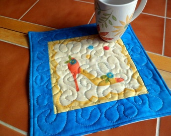 Objects of Desire - oversized coaster - mini placemat
