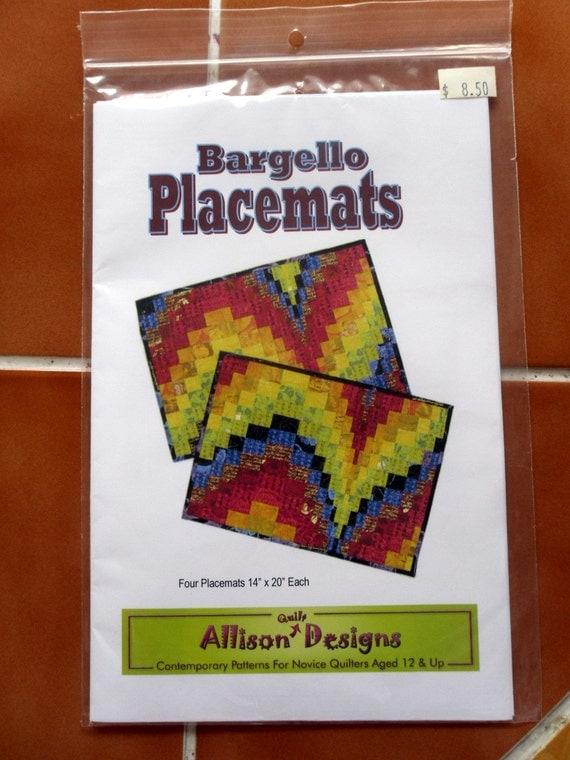 Bargello Placemats Quilt Pattern By Allison Quilt Designs