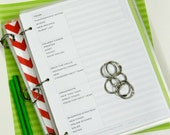 Planner Printables. 8.5 x 11 Holiday Management.  Holiday Life. Instant Download.