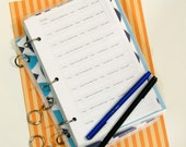 Planner Printables. 5.5 x 8.5 Personalized Set:  You Choose Five.