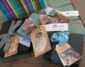 Lorelei Jewelry gift wrap service-- present your gift with perfection
