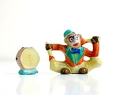 Vintage Monkey and Drum Salt and Pepper Shakers
