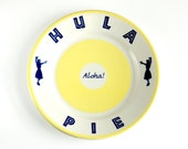 Vintage Hula Pie Plate