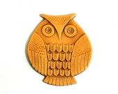 Mid Century Modern Owl Wall Decor