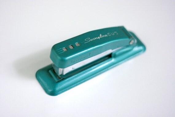 Swingline Stapler - Vintage Teal Cub Stapler