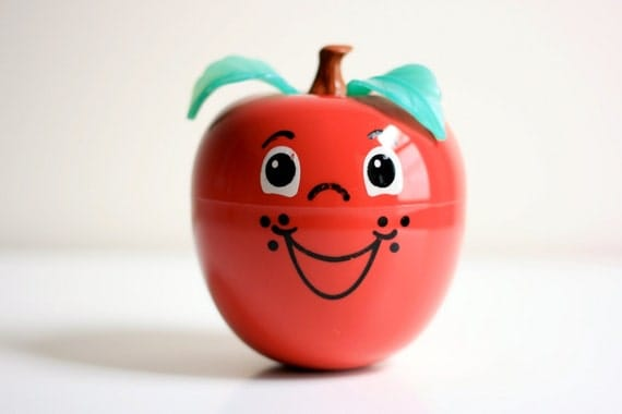 Vintage Fisher-Price Happy Apple