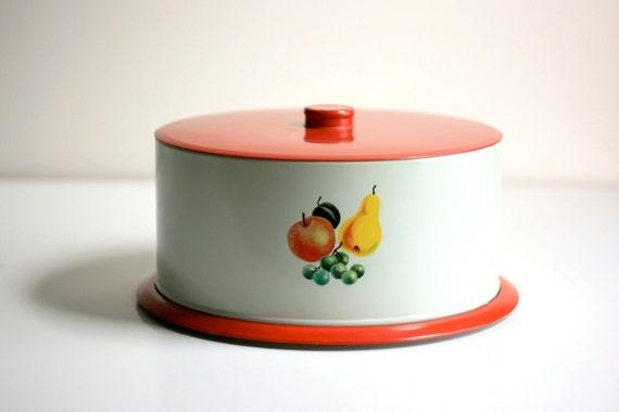 Vintage Decoware Cake Carrier
