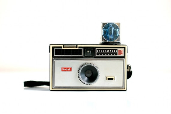 Vintage Kodak Camera - Instamatic 104