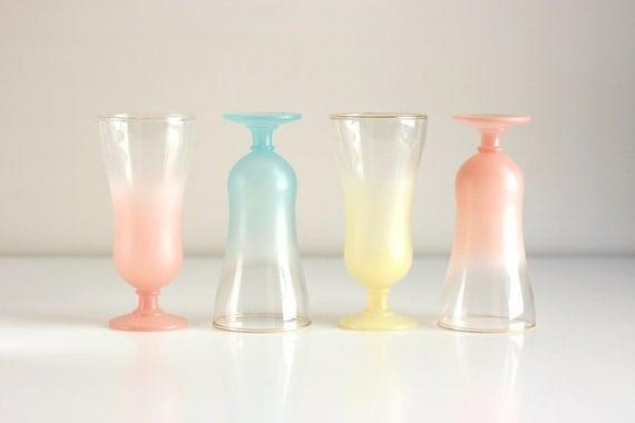 Vintage Blendo Parfait Glasses