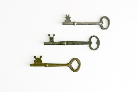 Antique Skeleton Keys - Instant Collection