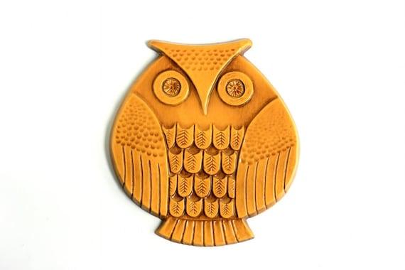 Mid Century Modern Owl Wall Decor