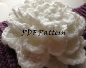 Crochet Pattern for Gardenia Flower