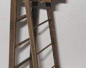 Ladder, twelfth scale, dollshouse miniature