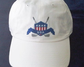 Patriotic Golf Cap