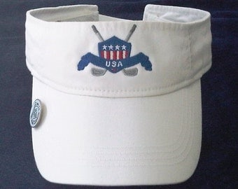 Patriotic Golf Visor