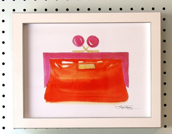 Framed Art Print Kate Spade Clutch
