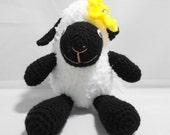 Amigurumi Black Face Sheep: Jolly