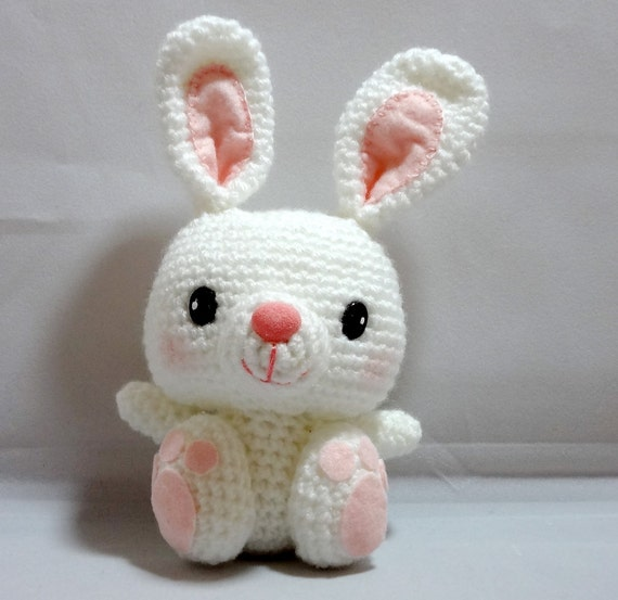 Amigurumi Big Feet Bunny by OrangeZoo on Etsy