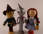 The Wizard of Oz Clothespin Doll Set