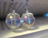 Labyrinth Masquerade - OOAK Silver Earrings