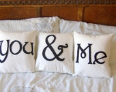You & Me Scatter Pillows