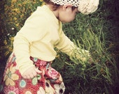 Buy 2 skirts get 1 FREE..... The Floral Corduroy Twirl Skirt... handmade childrens clothing by laken and lila....baby...toddler...girls