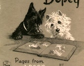 Dopey and Gallant Entire Series Westie and Scottie Dog Print s Antics Children's Book Vintage Dogs Westhighland Scottish Terriers