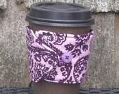 Coffee Cozy - Dainty Damask