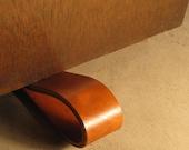 Leather doorstop - Simple leather doorstop