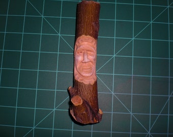 Winks, the Woodspirit, Hand Carved