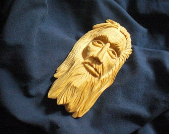 Wood Spirit, Oh Please, Hand-Carved