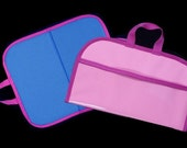 Mini Felt / Flannel Board with handles and storage 14 X16 PINK